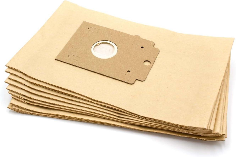 vhbw 10 bolsas papel para aspirador robot aspirador multiusos Ufesa Mini Mousy: Amazon.es: Hogar