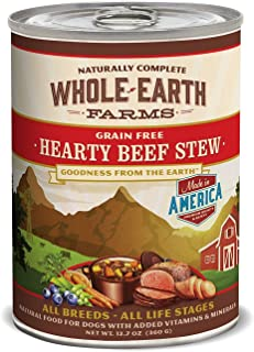 product image for Merrick Pet Treats Whole Earth Beef Stew 12/12oz