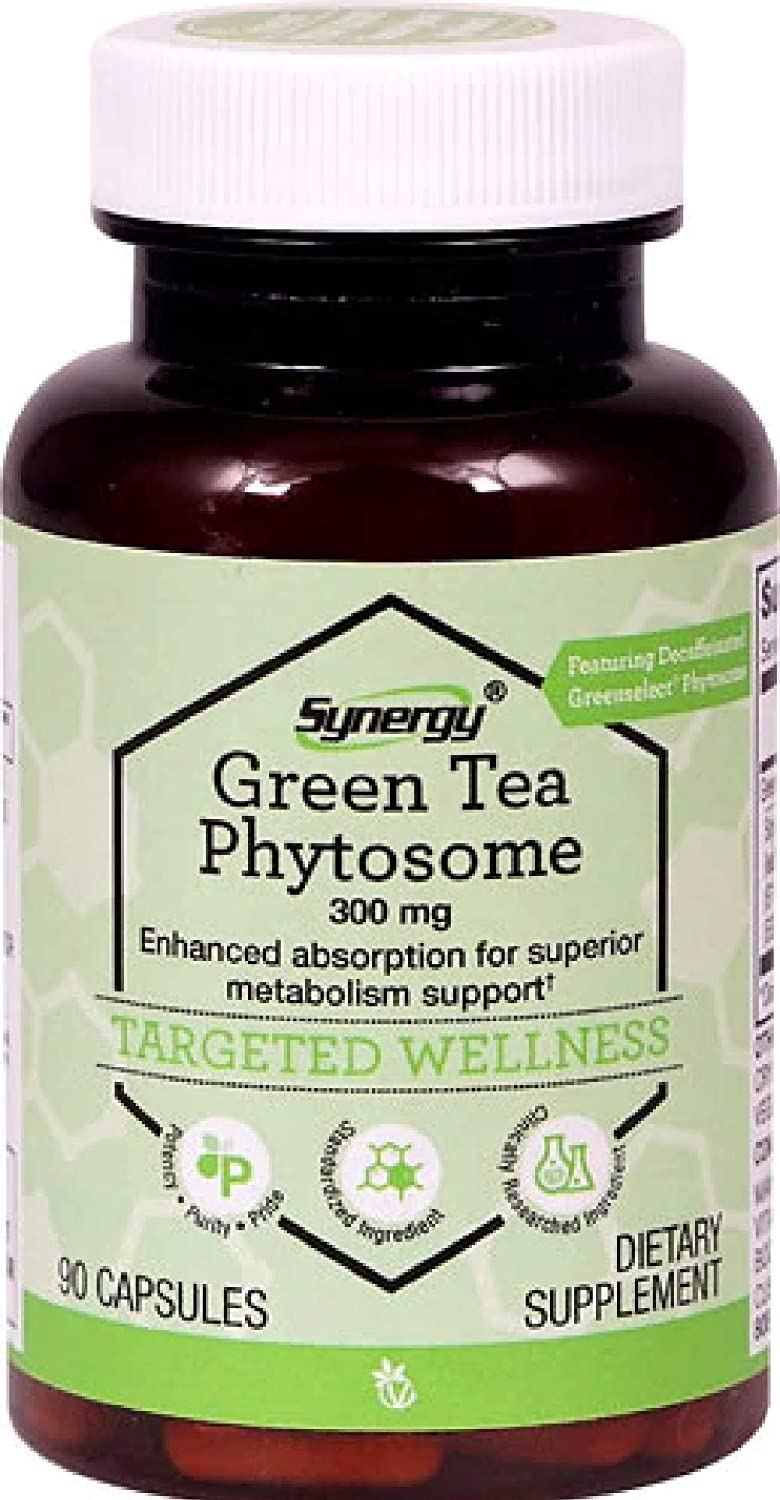 Vitacost GreenSelect Green Tea Extract Phytosome — 600 mg per serving – 90 Capsules