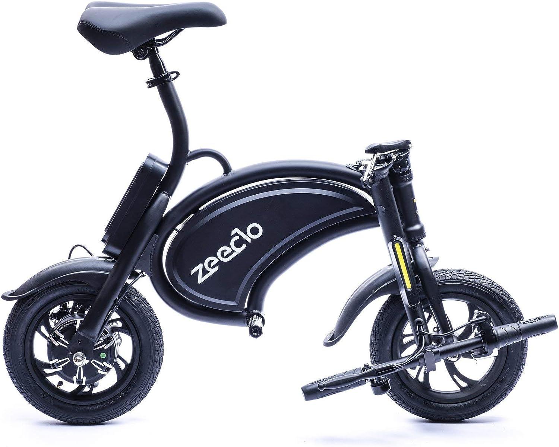 ZEECLO B200 Mini Ebike, Juventud Unisex, Negro, Mediano: Amazon.es: Deportes y aire libre