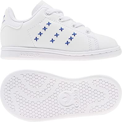 adidas Stan Smith El I, Basket Mixte Enfant: