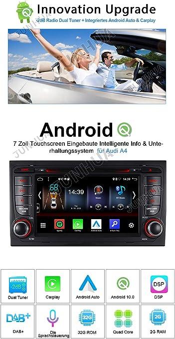7 2gb Ram 32gb Rom Android 10 0 Carplay Android Auto Dsp Dvd Gps Autoradio Navigation Für Audi A4 S4 Rs4 Seat Exeo Bt 5 0 Dab Wifi 4g Obd2 Navigation