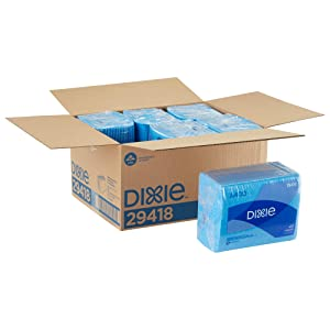 Dixie A400 Disposable Foodservice Towel by GP PRO (Georgia-Pacific), 29418, Blue, 40 Towels Per Pack, 6 Packs Per Case (240 Count)