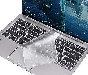 SKIONCE Keyboard Cover for Lenovo Yoga C940 C740 14, Yoga C930 930 13.9 Inch, Lenovo Yoga 730/720 13.3 Inch, Lenovo Yoga 730 15.6 Inch Ultra Thin TPU Keyboard Protector Skin (US Layout)