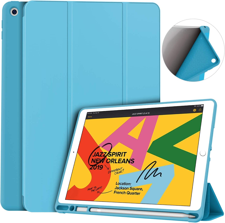 Funda Para iPad 10.2 7ma/8va Generacion celeste