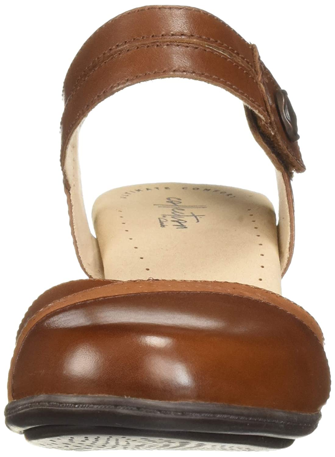 Clarks Womens Valarie Rally Heeled Sandals