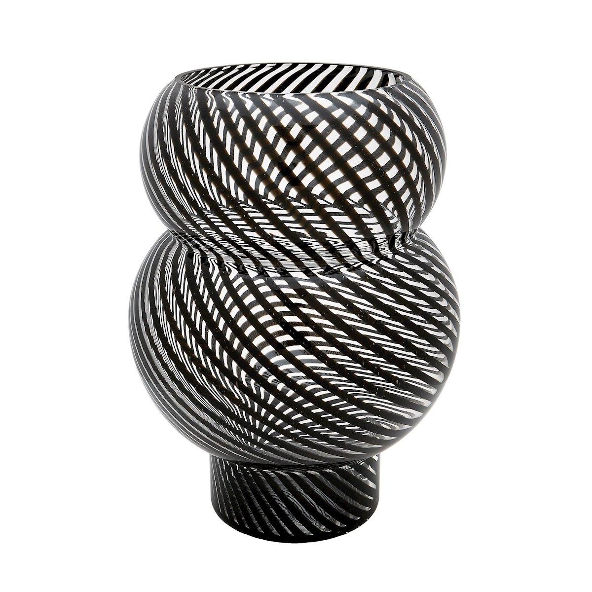 Dimondホームバブル花瓶 One Size 464079 B00L5OJTMA Black Whirl