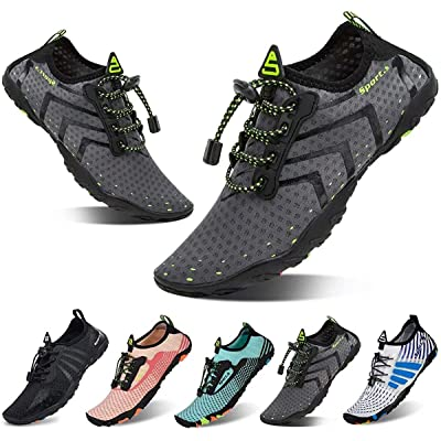 Men Women Water Shoes Barefoot Swimming Shoes Breathable Beach Swim Gift