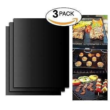 Grillmatte Richoose Bbq Grill Mat Set 3 Mit Boxen Non Stick Ofen