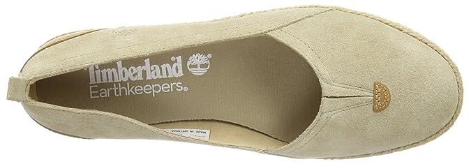 Timberland EK CASCO BAY TAN SUE BEIGE C8842R - Zapatos de cuero para mujer, color beige, talla 36: Amazon.es: Zapatos y complementos