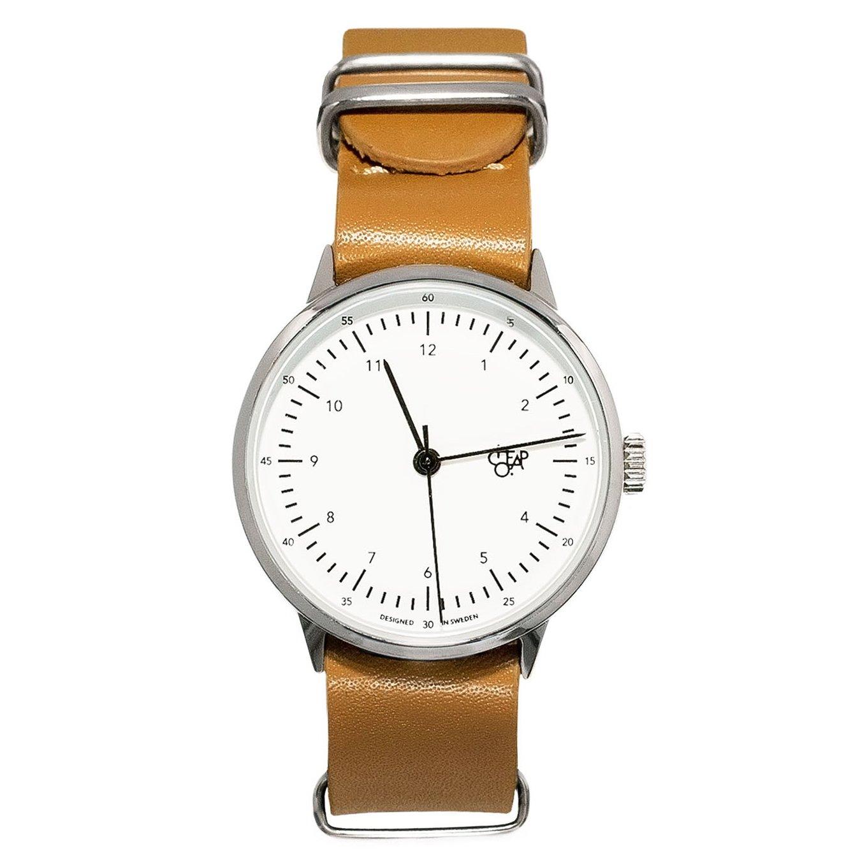 腕時計 CHEAPO (チーポ) ハロルド ミニ ブラウン / ホワイト 【正規輸入品】 B01LXINUYB