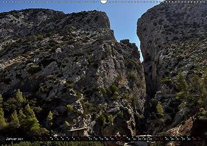 El Caminito del Rey Wandkalender 2021 DIN A2 quer : Ein ...