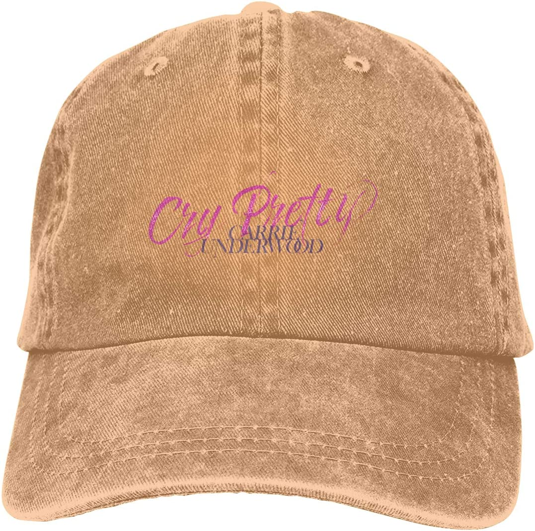 NOT BRAND Carrie Underwood Cry PrettyAdult Cowboy Hat Casual Fashion Comfort-mens And Womens.
