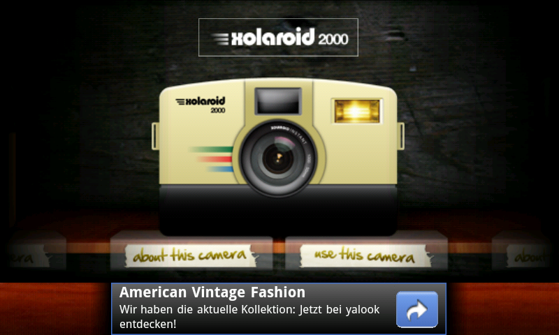 Camera Vintage Android : Amazon retro camera appstore for android