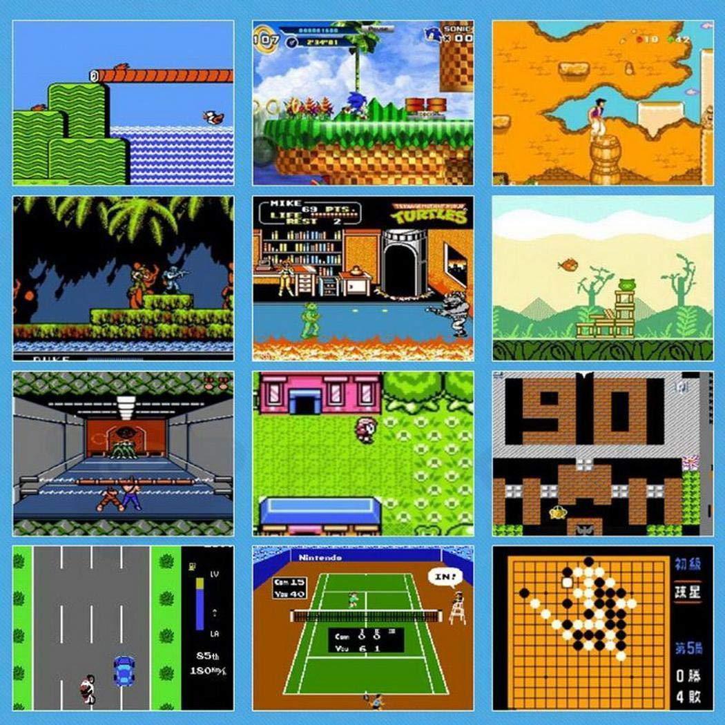 KOKOBUY Portable Built-in 168 Games Mini Handheld Game Console by KOKOBUY (Image #3)