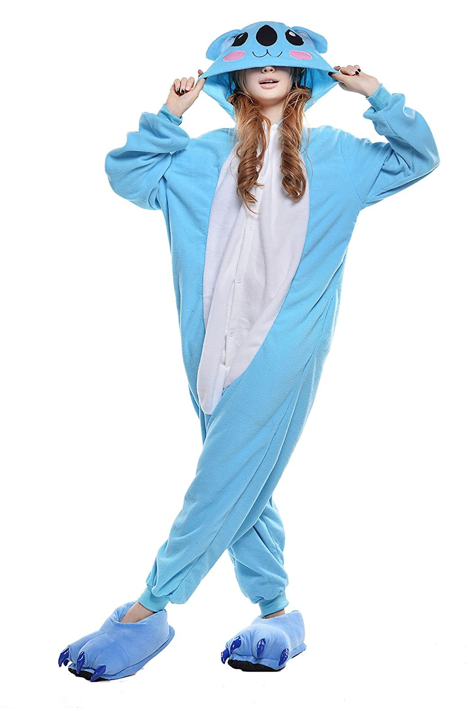 NEWCOSPLAY Koala Onesie Pajamas Homewear Onesie Cosplay Costumes