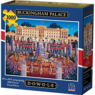 Dowdle Jigsaw Puzzle - Buckingham Palace - 1000 Piece: Toys & Games