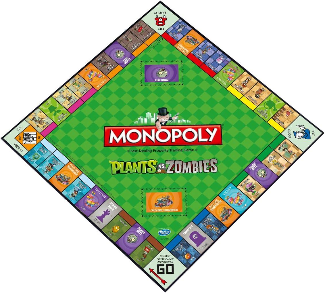 Monopoly Plants vs. Zombies: Amazon.es: Juguetes y juegos