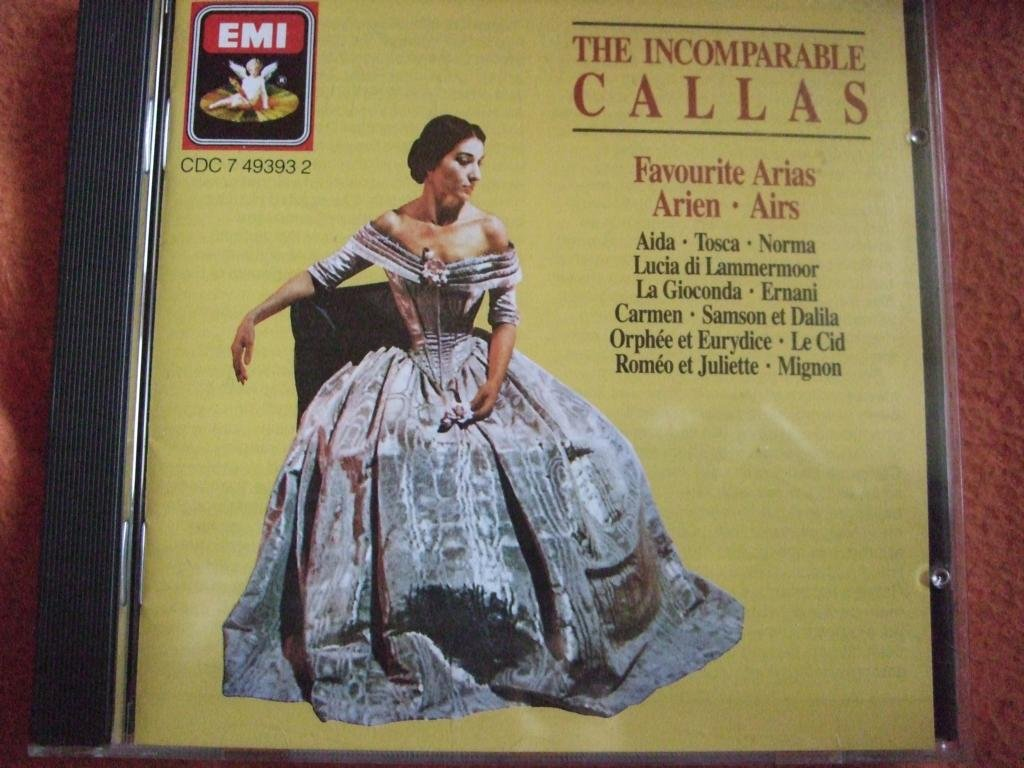Incomparable At the 5 ☆ very popular price of surprise Callas