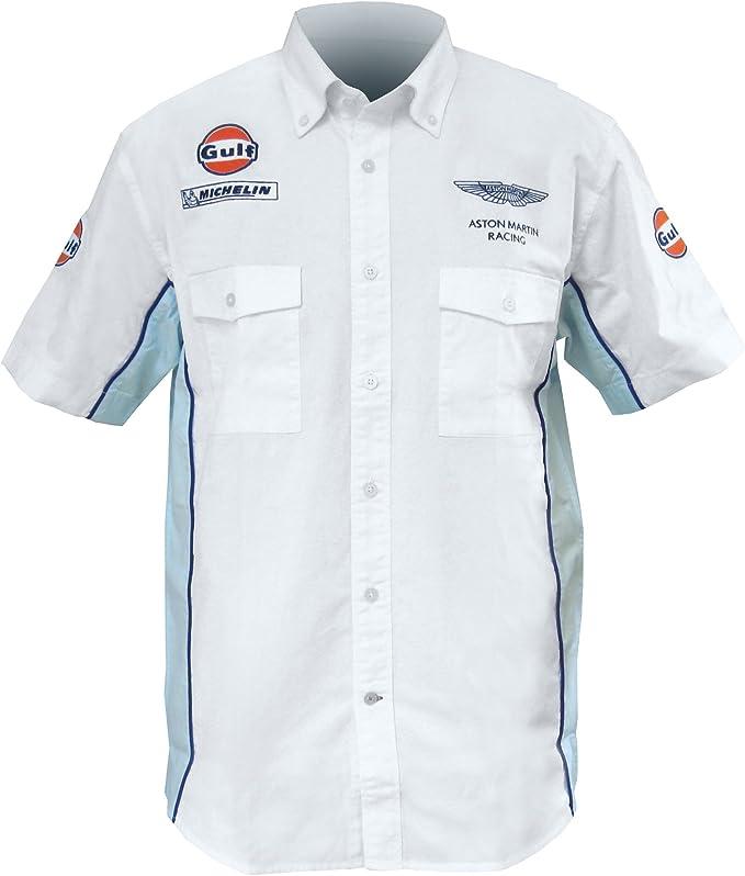 Aston Martin Gulf - Camisa de Carrera, Talla S: Amazon.es: Ropa y ...