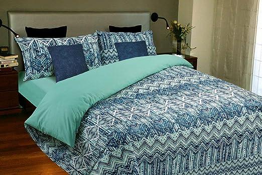 Juego de sábanas Algodón 100% OCEANIC (para cama de 90x190/200): Amazon.es: Hogar
