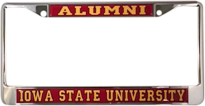 Iowa State University Cyclones Alumni License Plate Frame