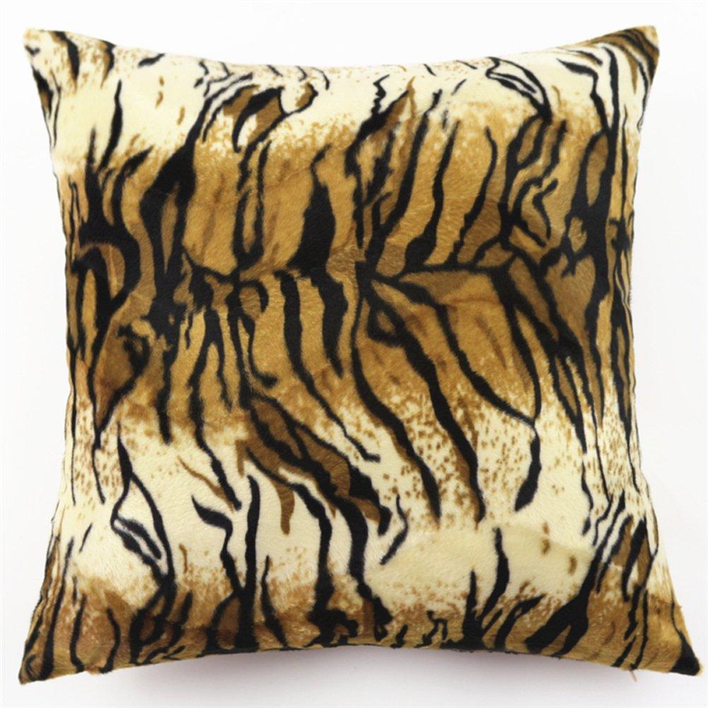 Amazon.com : YJBear Sexy Leopard Pattern Pillow Super Soft ...