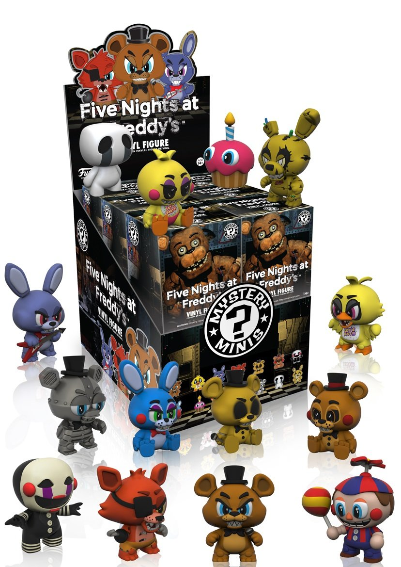 Five Nights at Freddy's Series 1 Blind Box Funko Mystery Minis: 8858 Accessory Toys & Games