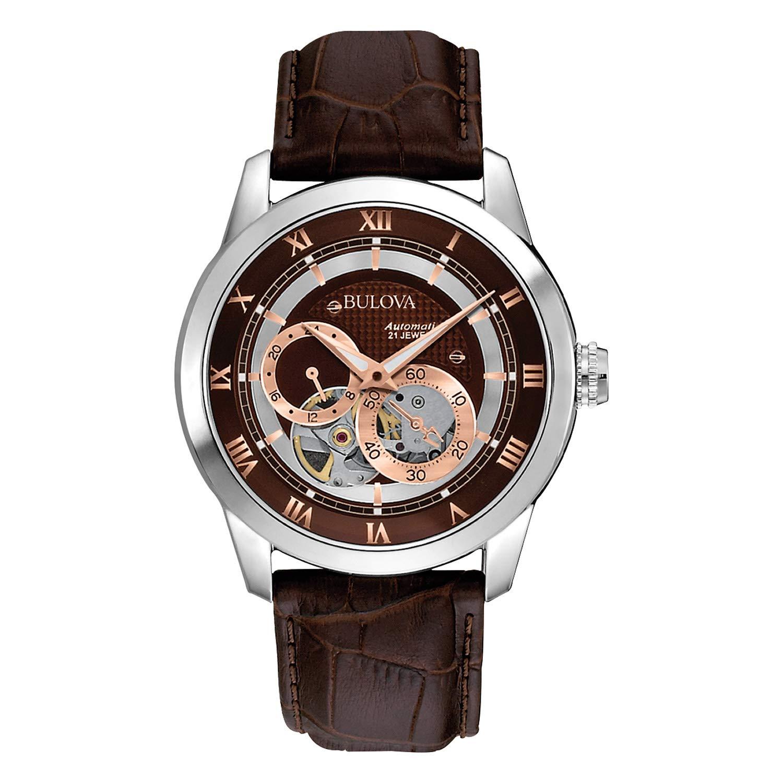 3718df909 Amazon.com: Bulova Men's 96A120 BVA Series Dual Aperture Dial Watch: Bulova:  Watches