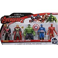Funkey™ Avengers Toys Set - Infinity War 5 Action Hero Collection 4.5 Inches (Multicolour)