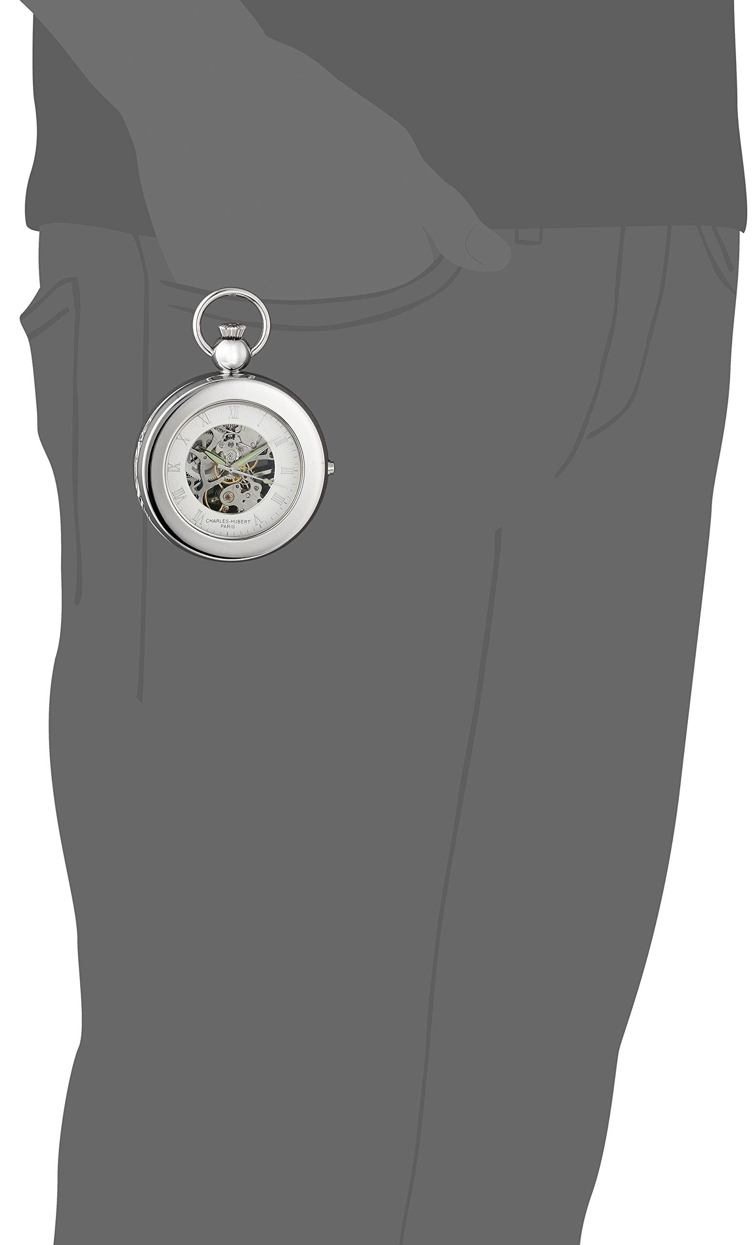 Charles Hubert 3849 Mechanical Picture Frame Pocket Watch by CHARLES-HUBERT PARIS (Image #4)