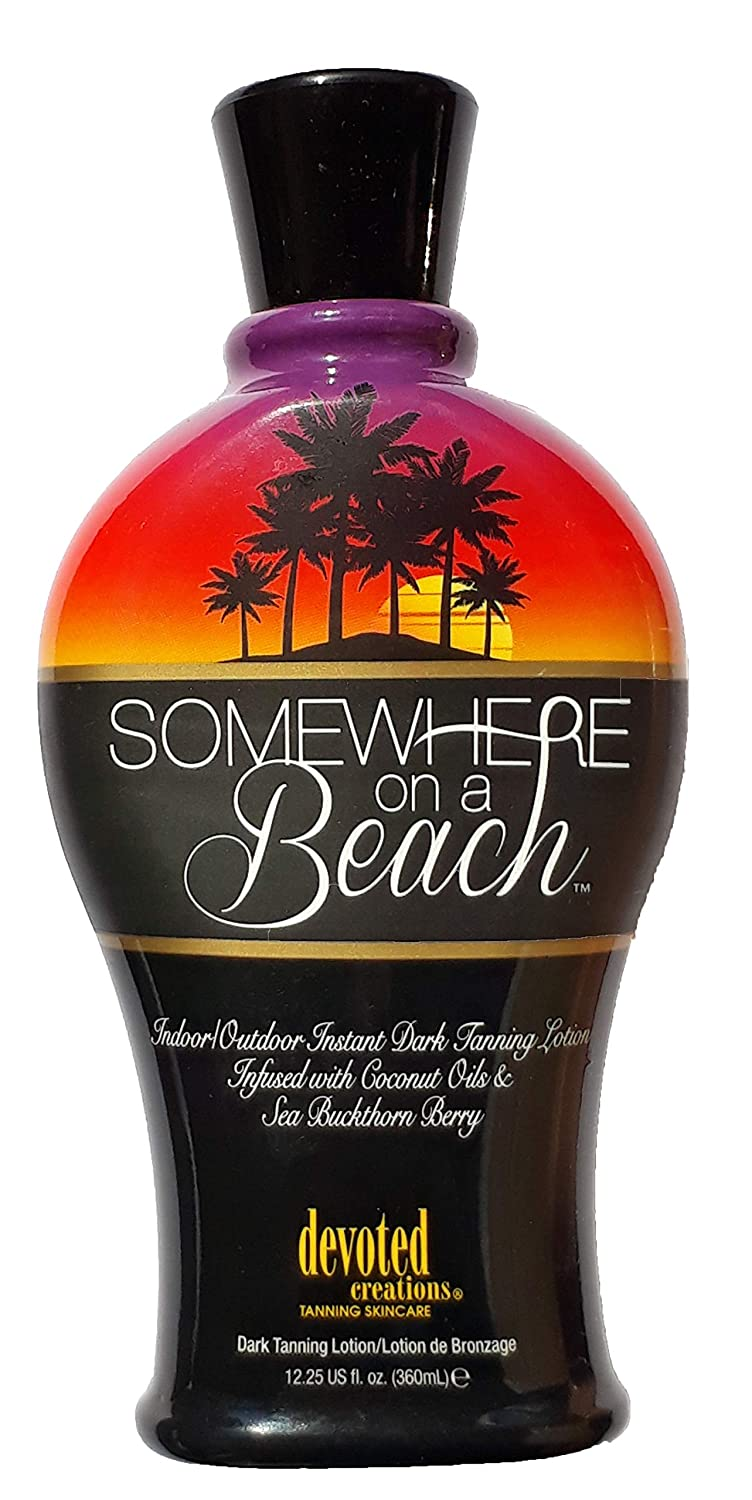 Somewhere on a Beach indoor tanning Lotion