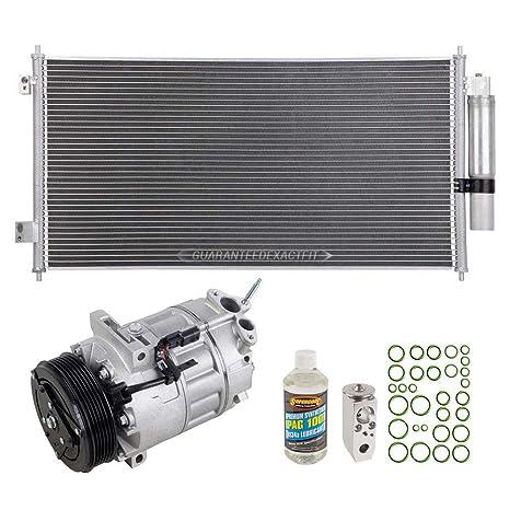 Nueva AC Compresor y embrague con completa a/c Kit de reparación para Nissan Sentra