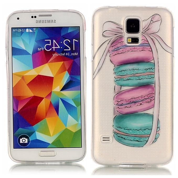 Amazon.com: S5 caso, Galaxy S5 Caso, El amor sonido Slim Fit ...