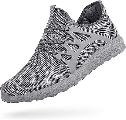 ZOCAVIA Mens Running Tennis Work Shoes