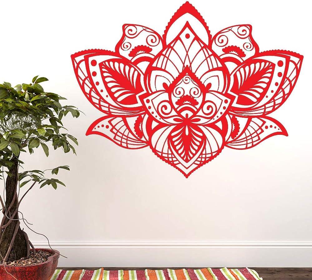 Tatuajes de pared Flor de loto Vinilo Pegatinas de pared Diseño ...