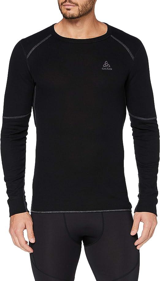 Odlo Unterhemd Shirt Long Sleeve Crew Neck X-Warm Camiseta, Mujer: Amazon.es: Ropa y accesorios