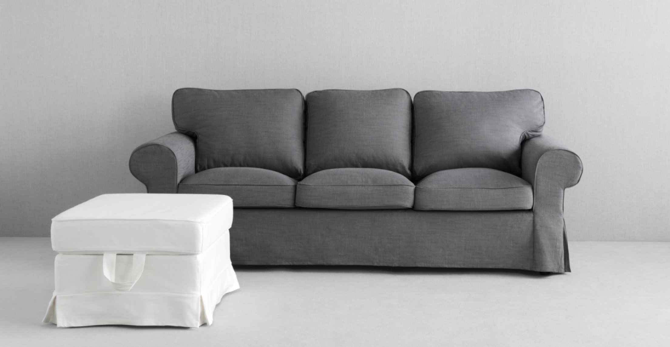 Ikea Sofa cover, Nordvalla dark gray 1428.8811.1034 by IKEA