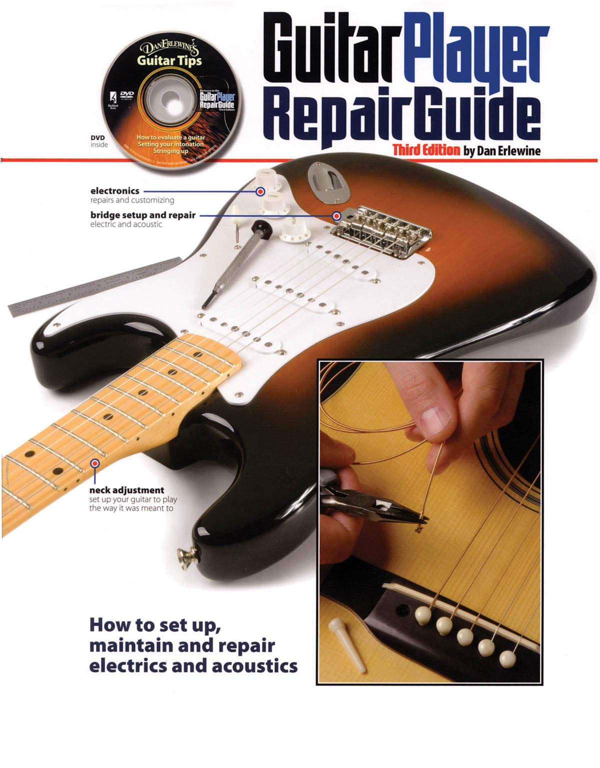 The Guitar Player Repair Guide: Amazon.es: Dan Erlewine: Libros en idiomas extranjeros