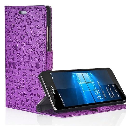 1 opinioni per UKDANDANWEI Microsoft Lumia 540 Dual SIM Custodia- Custodia in Similpelle