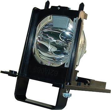 AuraBeam - Lámpara de repuesto para televisor de proyección trasera para Mitsubishi 915B455011 / 915B455012, con bombilla Osram Neo-Lux en el interior. Lámpara con carcasa: Amazon.es: Electrónica