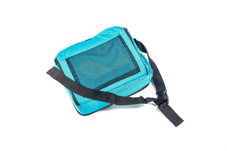 Trona port/átil para beb/és Incluida Alzador infantil con bolsillos . Se acopla al respaldo de cualquier silla Bolsa para transportarla Asiento plegable de viaje