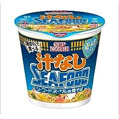 【ラーメンの新商品】カップヌードル 汁なしシーフード 95g×12個