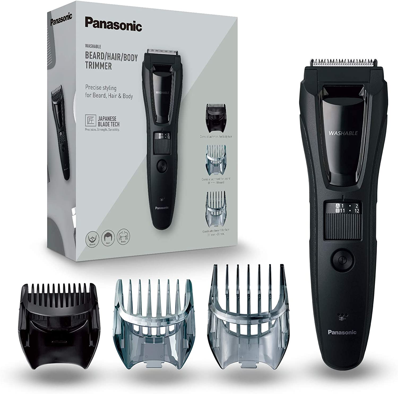 Panasonic ER-GB61-K503 - Recortadora Para Hombre Cuerpo, Barba Y ...