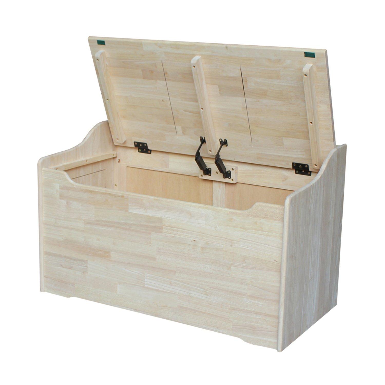 International Concepts Unfinished Storage Box, 38(W) x 419(L) x 23(H) by International Concepts (Image #4)