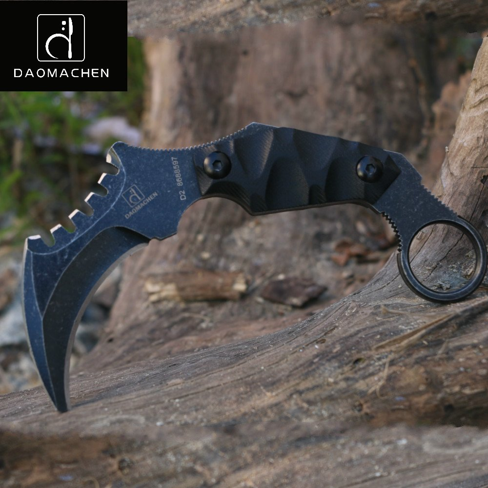 DAOMACHEN Claws blades Straight Claw Tactical Handle Outdoor Hunting Knife as a by DAOMACHEN (Image #3)