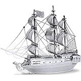 MetalEarth 3D Metal Model - Black Pearl Pirate Ship