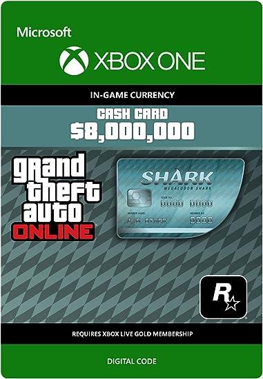Grand Theft Auto Online - GTA V Tiger Shark Cash Card | 200,000 ...
