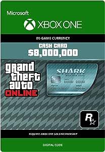 Grand Theft Auto Online - GTA V Megalodon Shark Cash Card ...