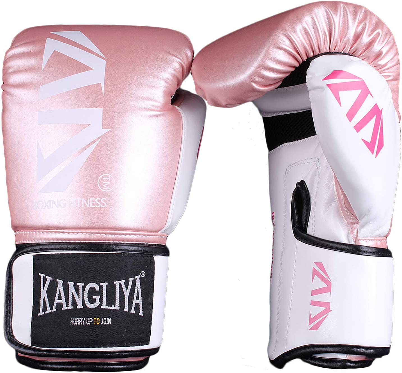Frappe Sac Entra/înement Mitaines FitTrek Gants de Boxe pour Entrainement Muay Thai Kickboxing Fitness Boxing Gloves pour Femme Homme Enfant Gant de Sparring